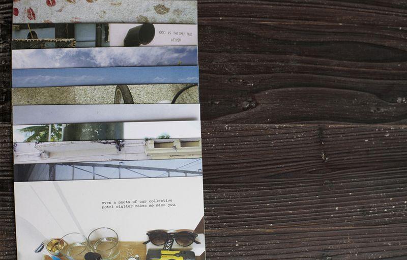 Postcards&wood copy