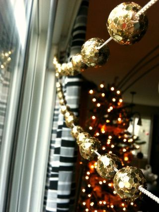 Holiday Glitter Garland