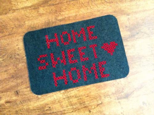 Cross Stitch Doormat