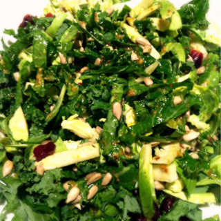 Kale & Brussel Sprout Salad