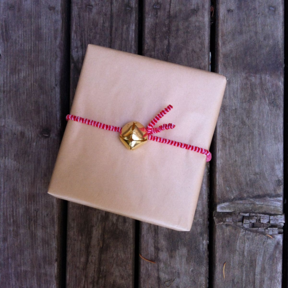 Jingle Bell Gift Wrapping